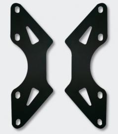 VESA Wandhouder adapterplaat van 75/100 naar 200/100