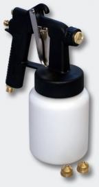 Professioneel Kunststof Spuitpistool HS-472D 0.8/1.2mm Nozzle