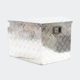 Afsluitbare transportbox, aluminium dissel kist.
