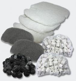 Set filtermateriaal voor 3 traps Aquariumfilter; SunSun HW-303/403B