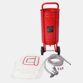 Mobiele zandstraalmachine Zandstraal machine 30L inclusief accessoires