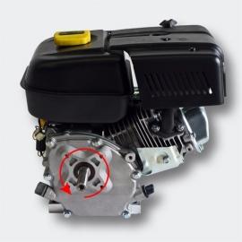 LIFAN Benzinemotor 4T 6,6kW/9 PK met handstarter.