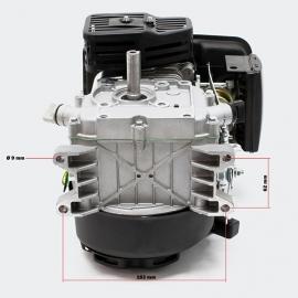 LIFAN 152 Benzinemotor 1.8kW (2.45Pk) 4-Takt 15mm luchtgekoeld, handstarter.