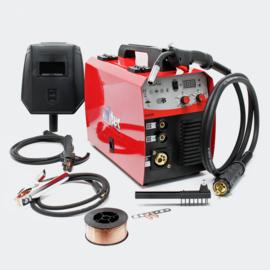 MIG - MAG lasapparaat met 40-160 ampère voor 0,6-0,8 mm vuldraad.