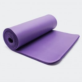 Yogamat paars 180 x 60 x 1,5cm gymnastiekmat vloermat sportmat