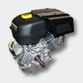 LIFAN 188 Benzinemotor 9,5kW/13,0 PK met as van 25mm.