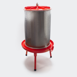 Hydropress 40 liter 3 bar roestvrijstalen fruitpers ciderpers