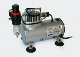 Mini airbrush compressor, Model AS18-2