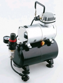 Airbrush Compressor AS186 met Luchttank