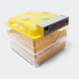 Automatische broedmachine voor 112 eieren; Incubator.