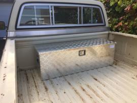 Afsluitbare transportbox, aluminium kist; 170 liter.
