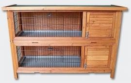 Knaagdier / Konijnenflat, (2 gescheiden etages)