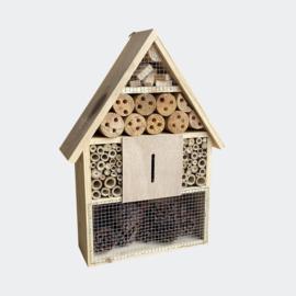 Insectenhotel 285 x 90 x 385 mm, natuurlijk nesthulpmiddel voor insecten.