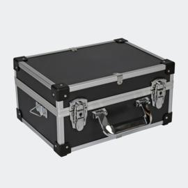 Aluminium afsluitbaar opbergkoffer 32x23x16cm.