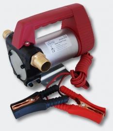 Zelfaanzuigende Diesel / Stookolie pomp, 12V/60W 40l/min.