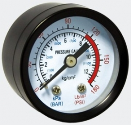 Manometer voor drukvaten / manometer controle Presscontrol