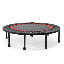 Fitness trampoline Ø1220 mm tot 150kg opvouwbaar voor full body training.