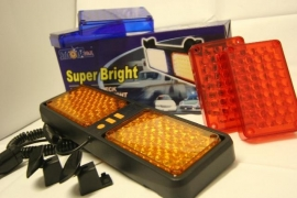 Led Strobe In-Car flitser.