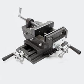 Machine bankschroef 2-assige 200 mm
