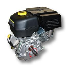 LIFAN 188 Benzinemotor 9,5kW/13,0 PK met as van 25,4mm.