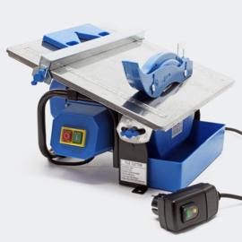 Elektrische tegelsnijder 600W watergekoeld, tot 34 mm tegeldikte.