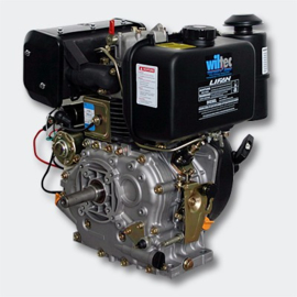 LIFAN C186FD dieselmotor 6,3kW 8,6Pk 25mm dynamo & E-Start