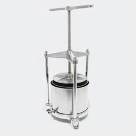 Mini-Fruitpers aluminium/roestvrij staal 5 liter