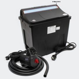 SunSun Bio Vijverfilter CBF-200T 9W UVC, Vijverpomp 2300l/h 35W