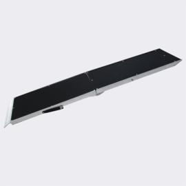 Dierenloopplank, hondenloopplank opvouwbaar op 92x38cm aluminium 183cm 110kg