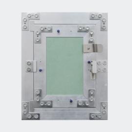 Inspectieluik aluminium frame 30x30cm gipsplaat inspectiedeur gipsbouw