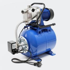 Pomp voor waterhuishouding 200W 3400l/u met drukschakelaar en 19l. drukvat