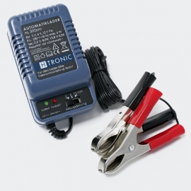 H-Tronic AL 300pro; 2/6/12V Automatische Lader, Druppellader, Acculader.