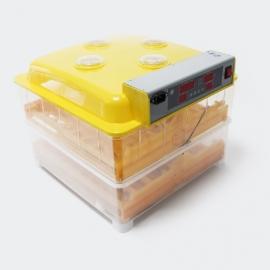 Automatische broedmachine, geschikt voor 96 eieren.