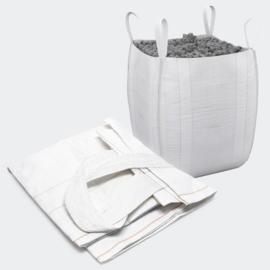 Bulkzak 90x90x90cm tot 1000kg met 4 lussen, polypropyleen.