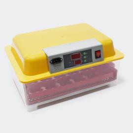 Volautomatische broedmachine, incubator voor 24 eieren.