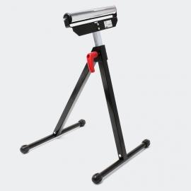 Rollenstandaard tot 60 kg, in hoogte verstelbaar van 68 tot 110 cm.