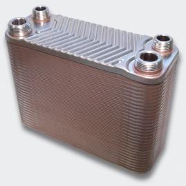 RVS Warmtewisselaar, 60 rijen, 130 kW
