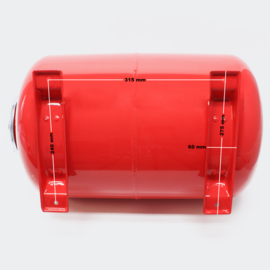 Expansievat, 50 liter.