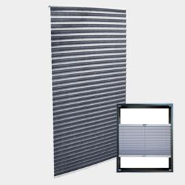 Plisségordijn, grijs, 70x200cm
