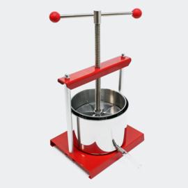 Mini-Fruitpers roestvrij staal 6 liter