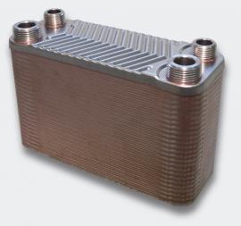 RVS Warmtewisselaar, 50 rijen, 90 kW