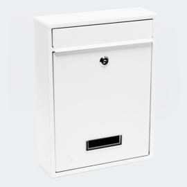 Brievenbus; Wandbrievenbus, Mailbox Type V10 wit