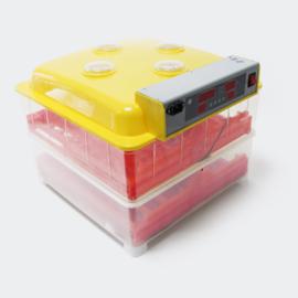 Automatische broedmachine voor 72 eieren; Incubator.