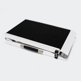 Aluminium honden (auto)-loopplank, antislip, 213,5x38cm.