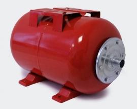 Expansievat, 19 liter, kleur rood.