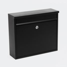 Brievenbus; Wandbrievenbus, Mailbox Type V13 zwart