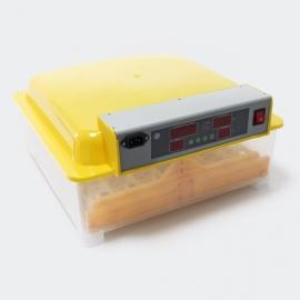 Automatische broedmachine, geschikt voor 24 tot 48 eieren.