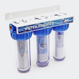"Naturewater NW-BR10B4 3-traps filter 20,67 mm (1/2 "") sedimentfilter"