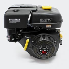 LIFAN 177 Benzinemotor 6.6kW (9.0Pk) 4-Takt 25,4mm luchtgekoeld, handstarter.