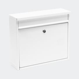 Brievenbus; Wandbrievenbus, Mailbox Type V13 wit